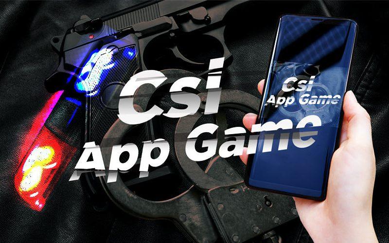 CSI app game moordspel teambuilding