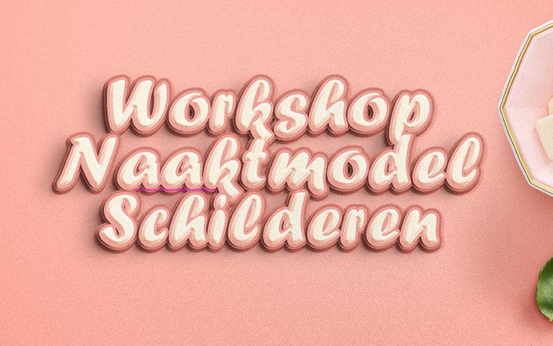 workshop naaktmodel schilderen nederland
