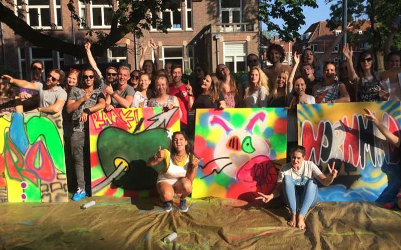 graffiti workshop nederland